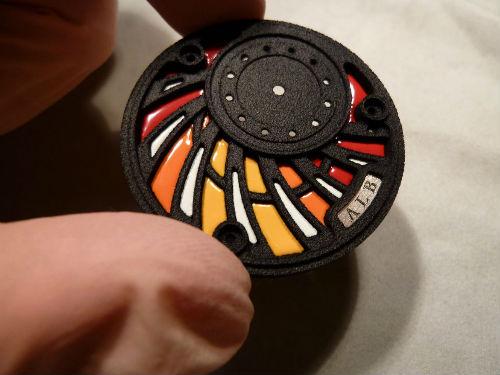 Horology Workshop A.L.B (Atelier le Brézéguet) 3D printing watch
