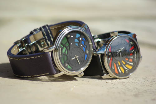 Photo Groupe Montre Bracelet Art Luxe Homme Alb 000 100 Atelier Hologer ALB Collection 2013