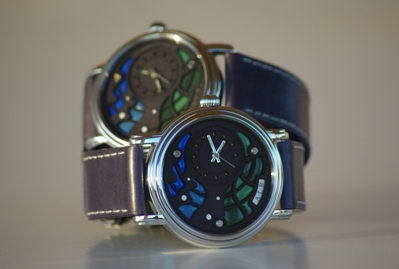 Photo Face Avant Montre Bracelet Art Luxe Homme Alb 000 Atelier artisan Horloger ALB Collection A.L.B artisanalebleue