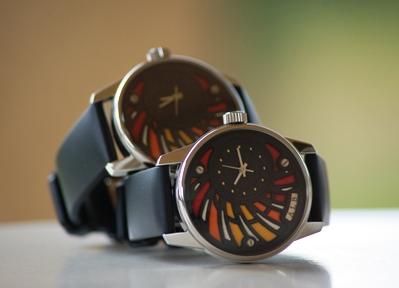 Photo Face Avant Montre Bracelet Art Luxe Homme Alb 100 Atelier artisan Horloger ALB Collection A.L.B artisanale série limitée sur mesure