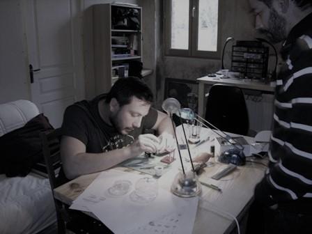 Atelier découverte horlogerie ALB-Xp, assemblage montre mécanique, stage horloger Toulouse